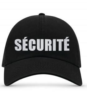 casquette brodé sécurité