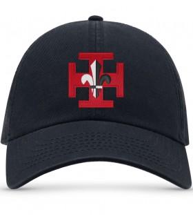 casquette Atlantis brodé logo scoutisme