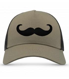 Casquette Moustache
