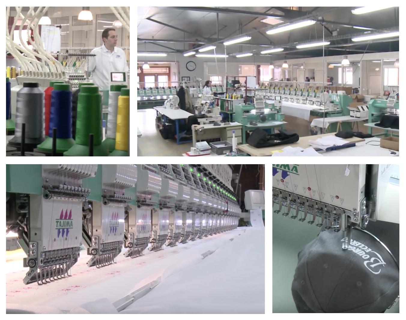 usine de broderie