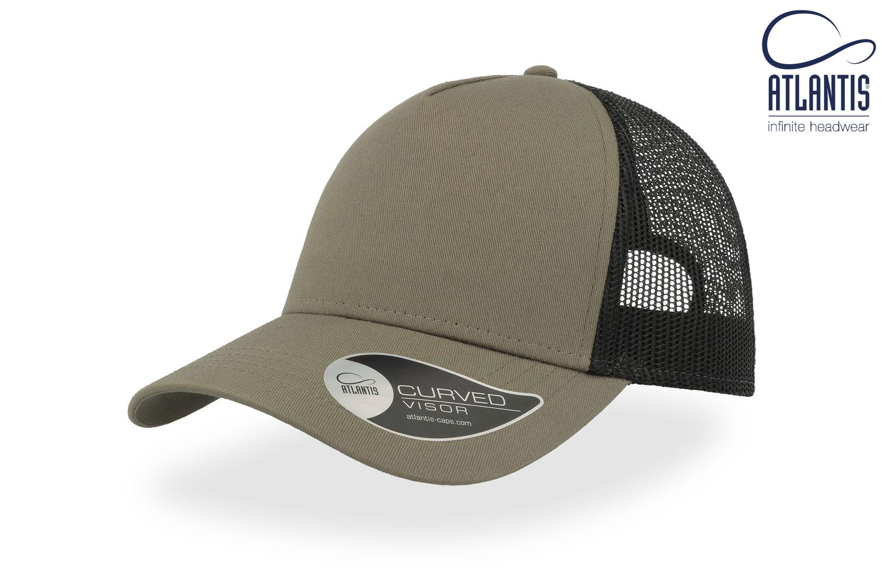 broderie logo sur casquette trucker