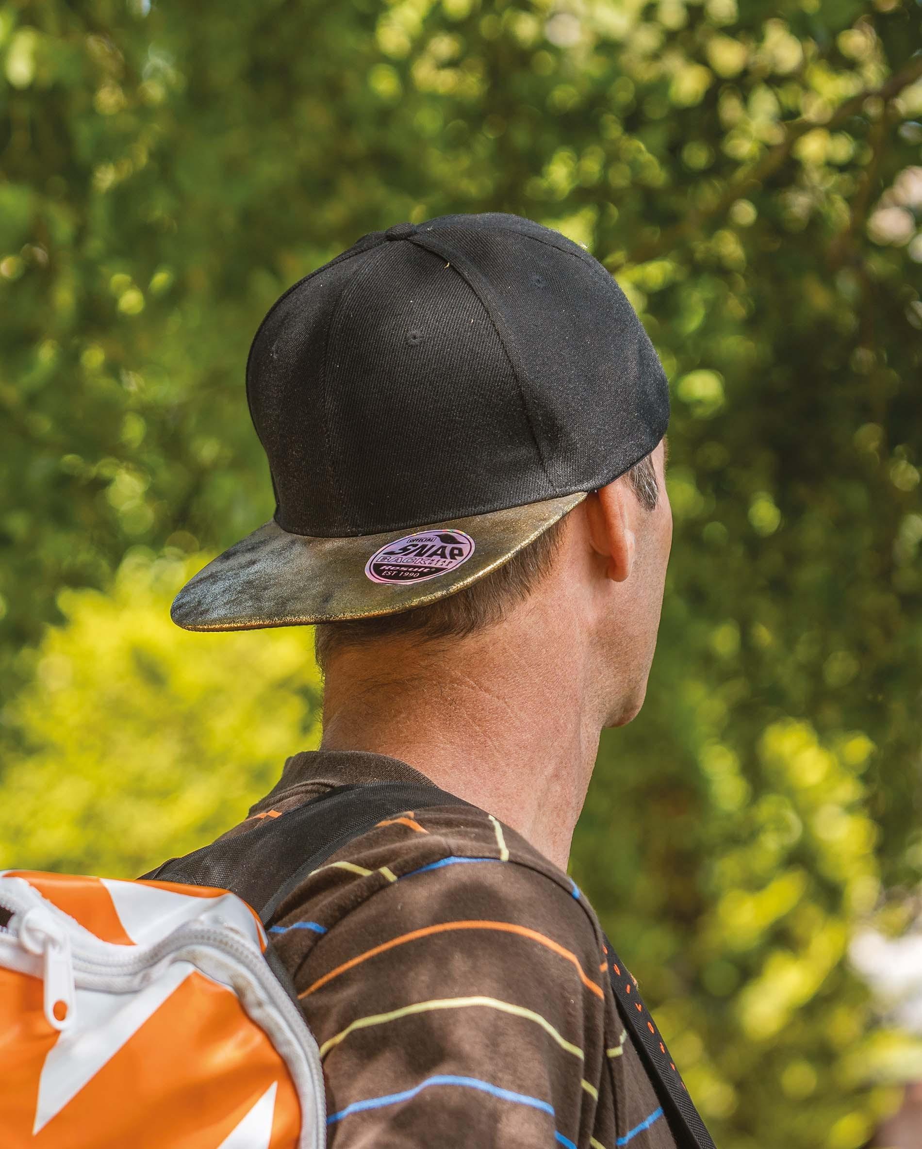 Broderie sur casquette bronx glitter RC087