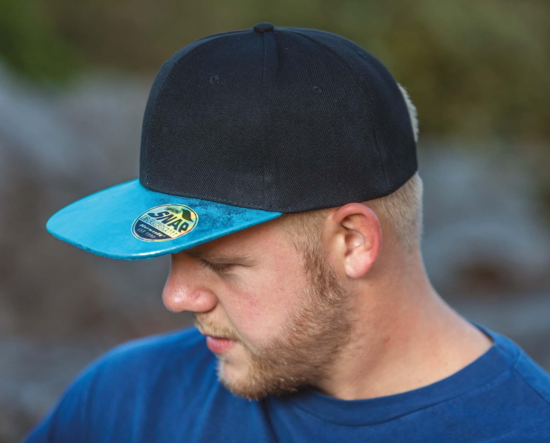 Broderie sur casquette Bronx glitter